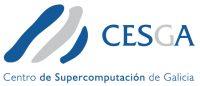 Imagen gráfica del CESGA con denominación extendida