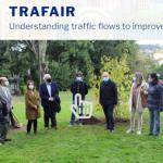 Acto de entrega do premio ao proxecto TRAFAIR