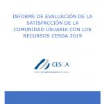 Informe Satisfacción Usuarios 2019