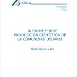 CESGA Informe Producción Científica 2020