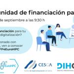 Oportunidades de financiación para HPC