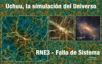 Uchuu, la simulación del Universo