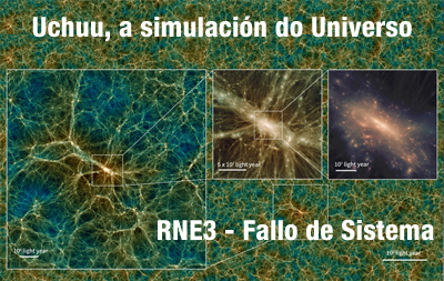 Uchuu, a simulación do Universo