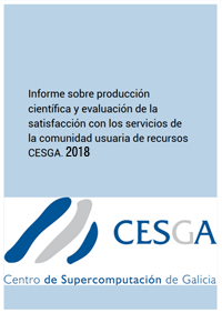 CESGA Scientific Production Report 2018