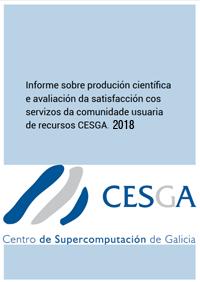 CESGA Informe Produción Científica 2018