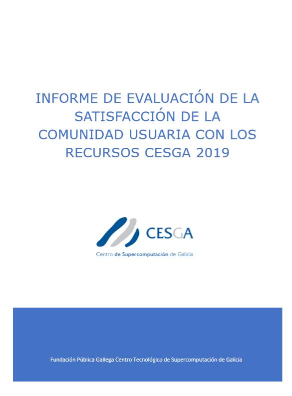 CESGA Informe Satisfacción Usuarios 2019